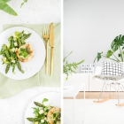 Food- und Interiorinspiration im Greenery Look