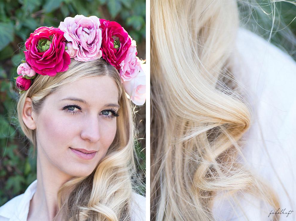 Haare Blond Frühling Wellness