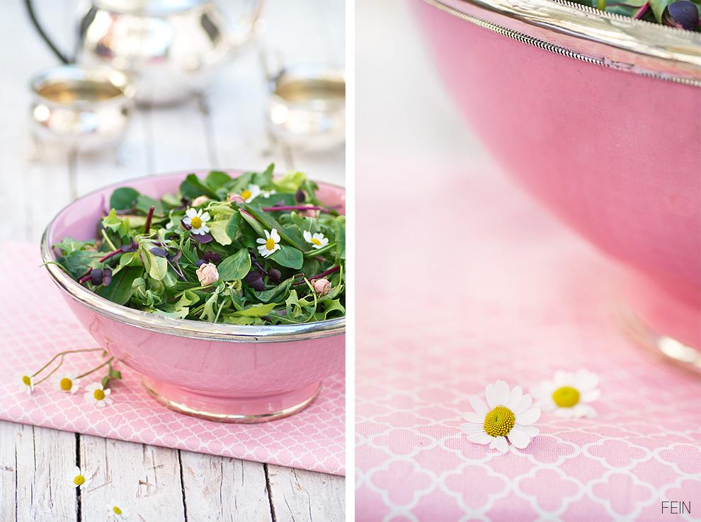 Salat und Kamille