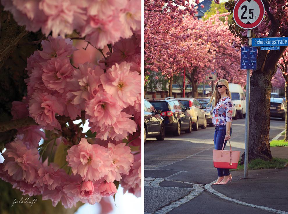 Blue Jeans Denim Michael Kosr Spring Blossom