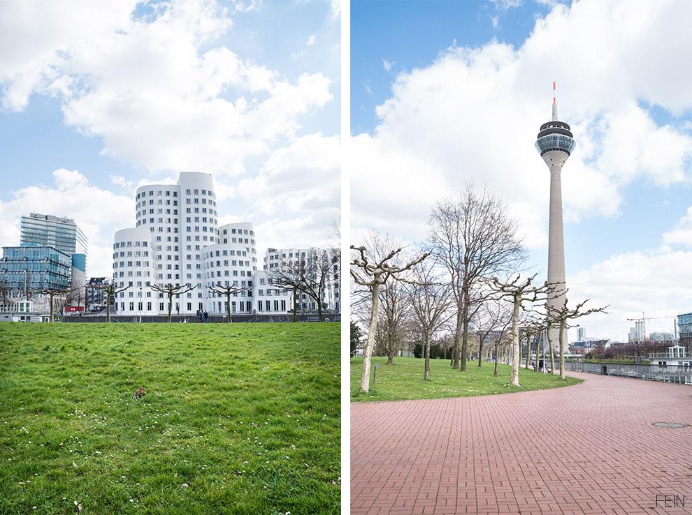 Düsseldorf Sehenswürdigkeiten Frank Gehry Fernsehturm