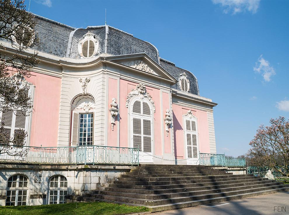 Düsseldorf Schloss Benrath Barpck Rokoko Klassizismus
