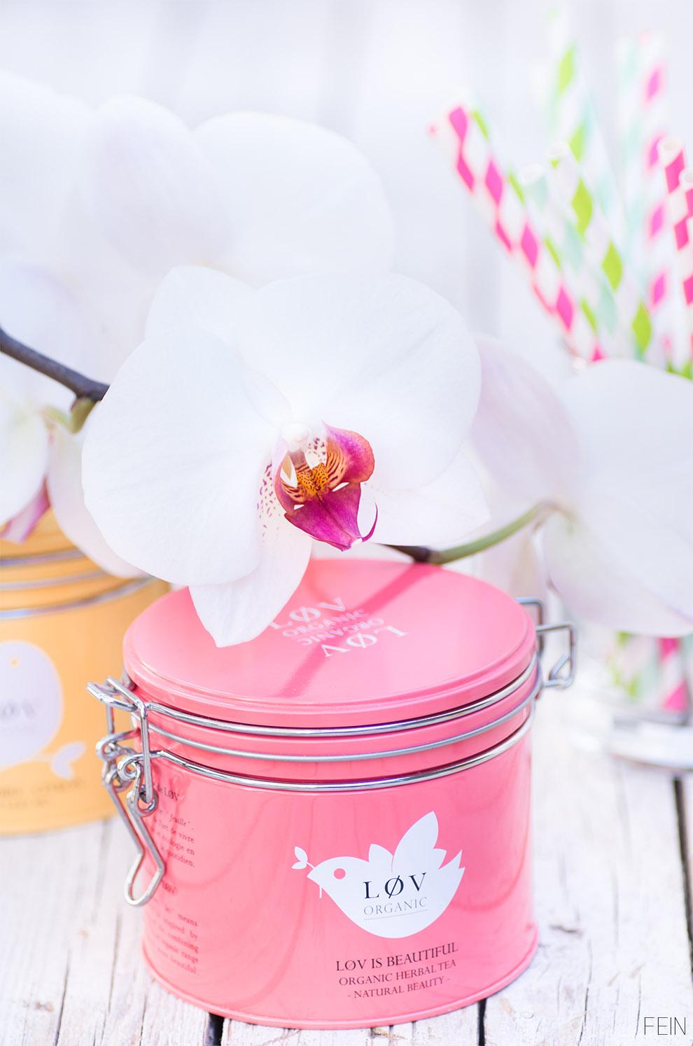 Eistee Orchidee LOV Pink