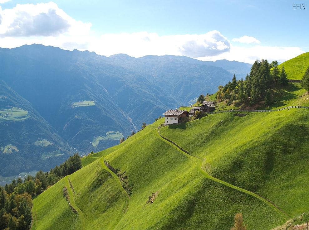Grüne Wiesen Südtirol