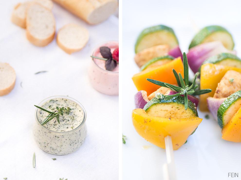 Grillen Gemüsespieße