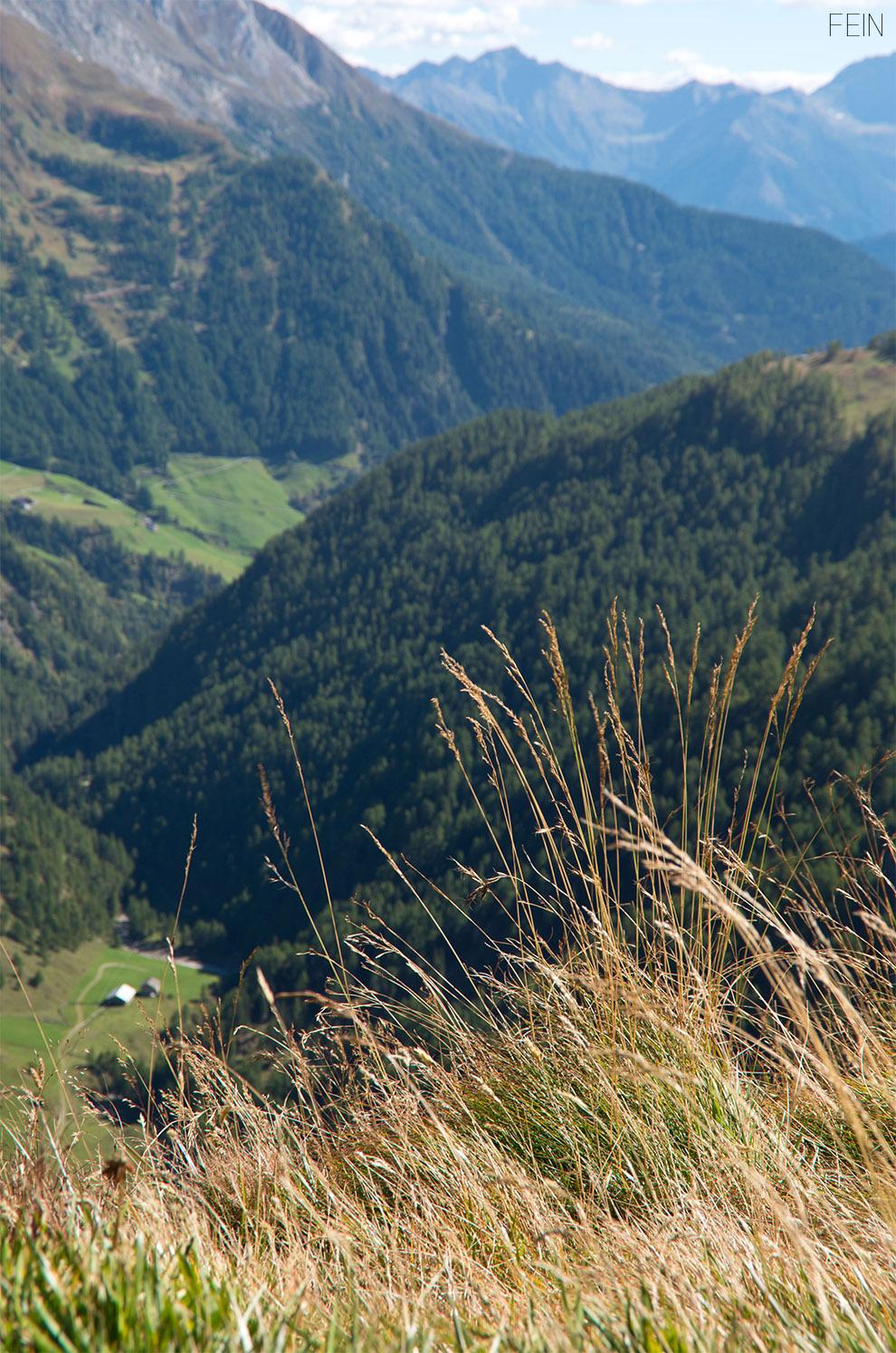Hochalpenstraße Südtirol Aussicht