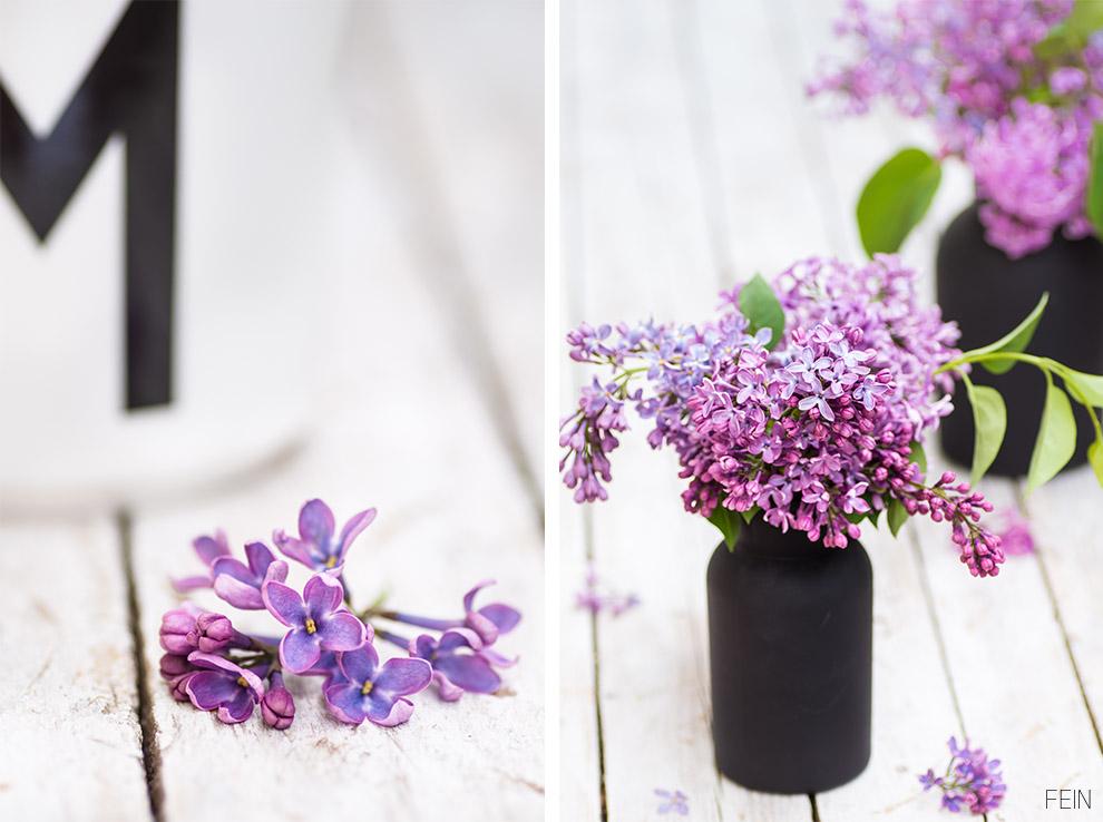 Muttertag Design Flieder lila