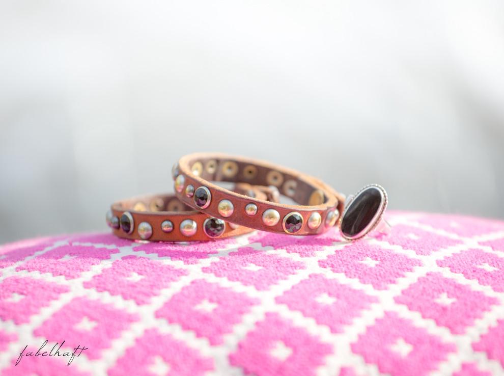 Accessoires Leder Armband Liebeskind
