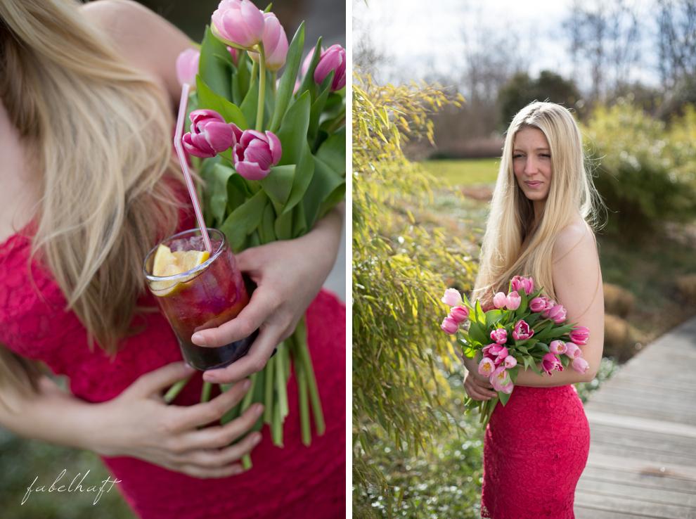 Garten Cocktail Tuplen Frühling