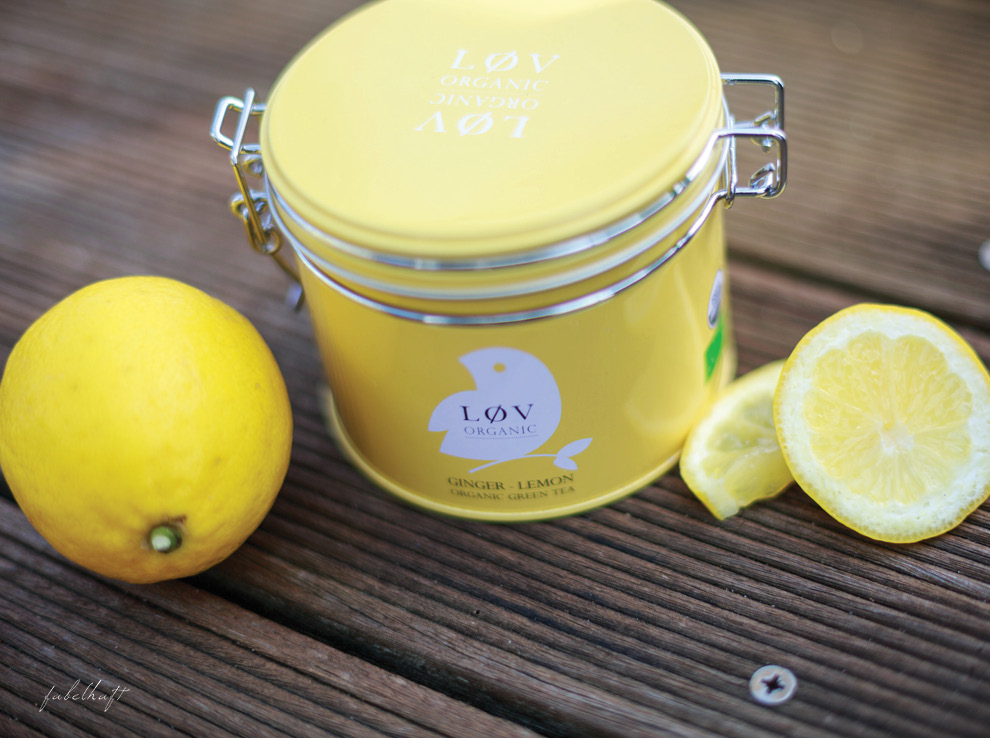 Lov Tee Ingwer Zitrone Tea Time Grüntee