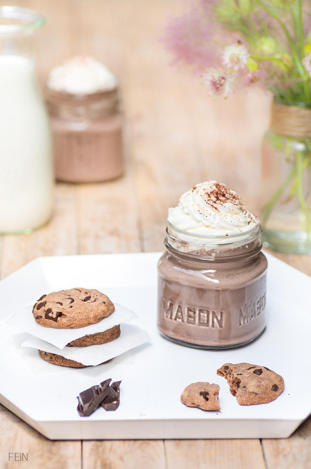 Cookies Mason Glas Schokolade