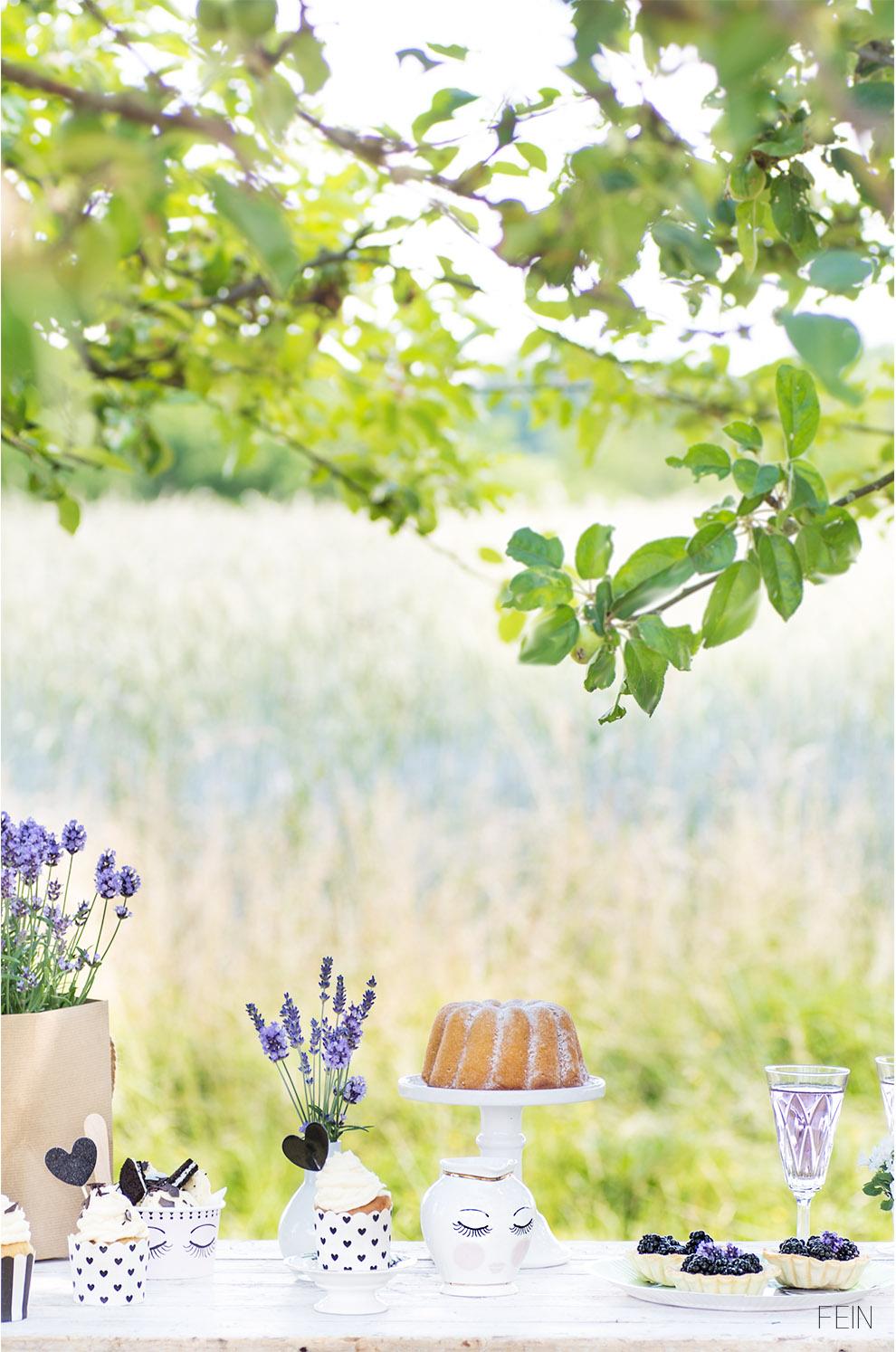 Lavendel Miss Etoile Sweet Table Kuchen