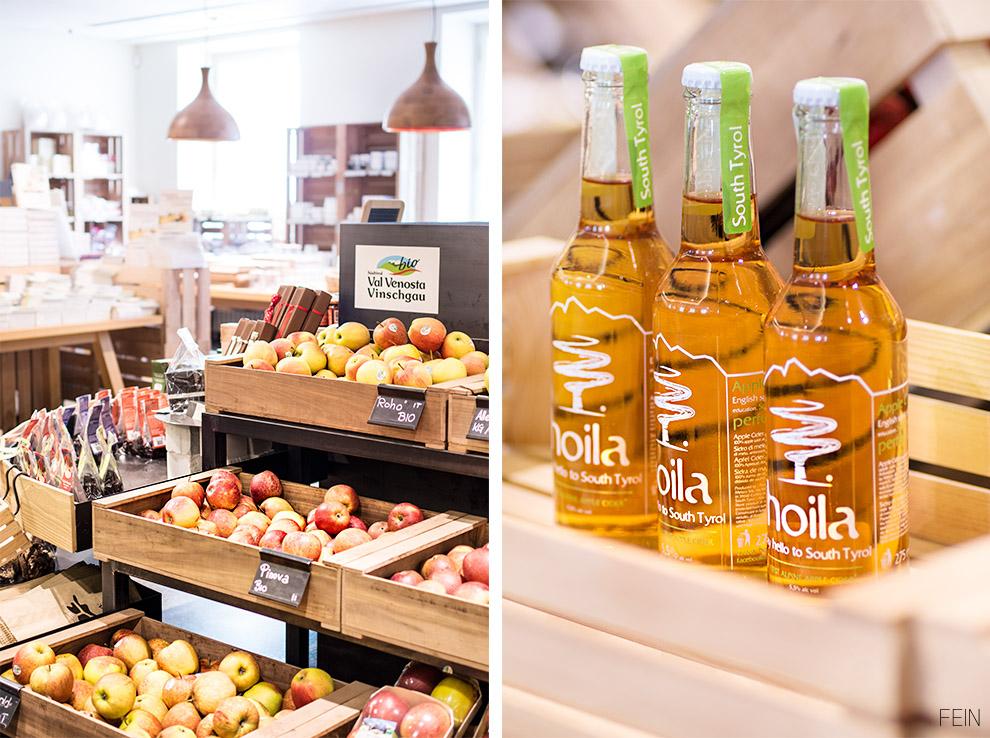 Südtirol Pur Markt Äpfel