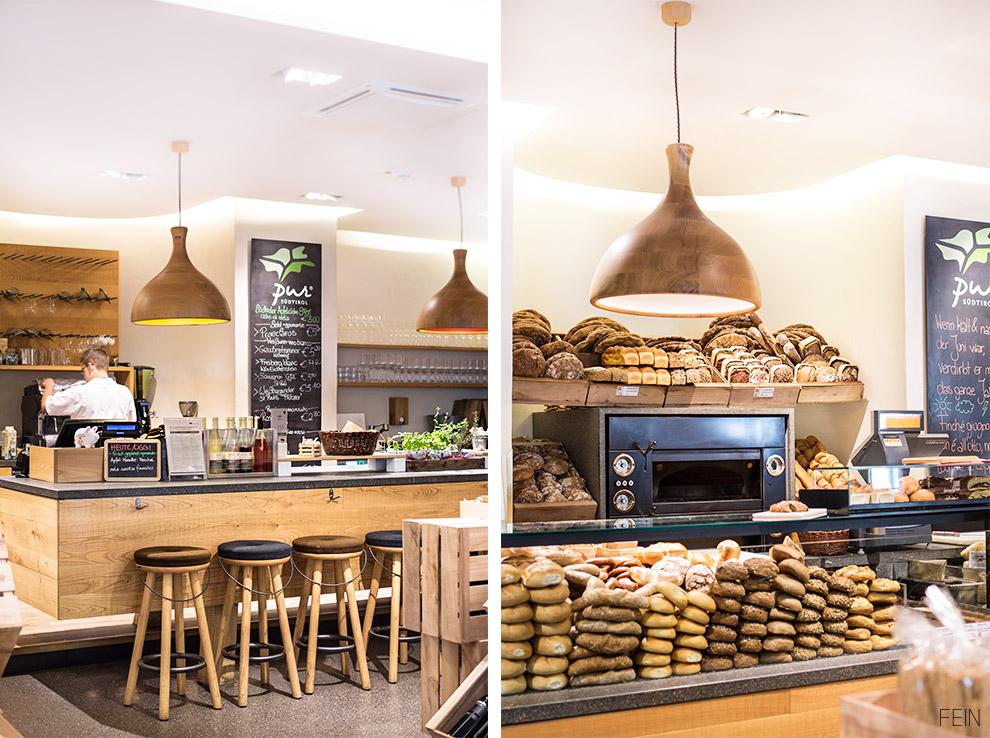 Südtirol Pur Markt Brot Bar