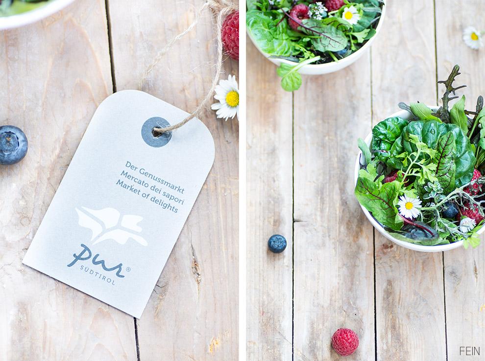 Salat Wildkräuter Pur Anhänger