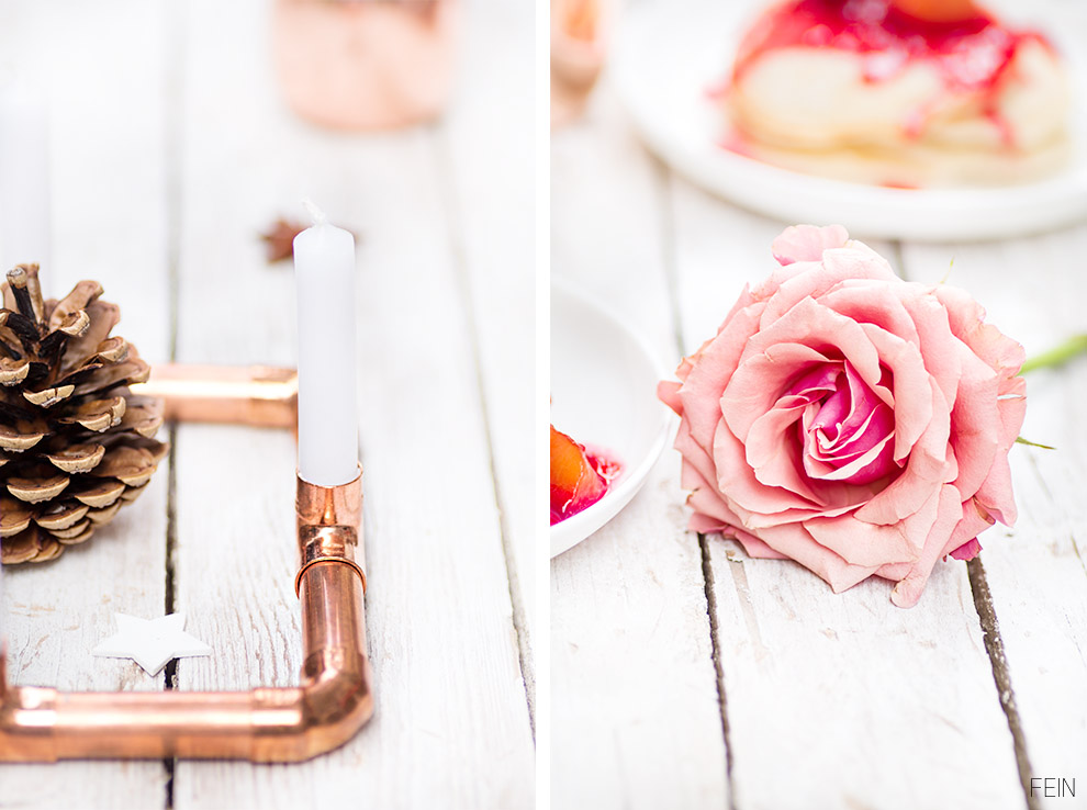 Pancakes Winter Kupfer Rose