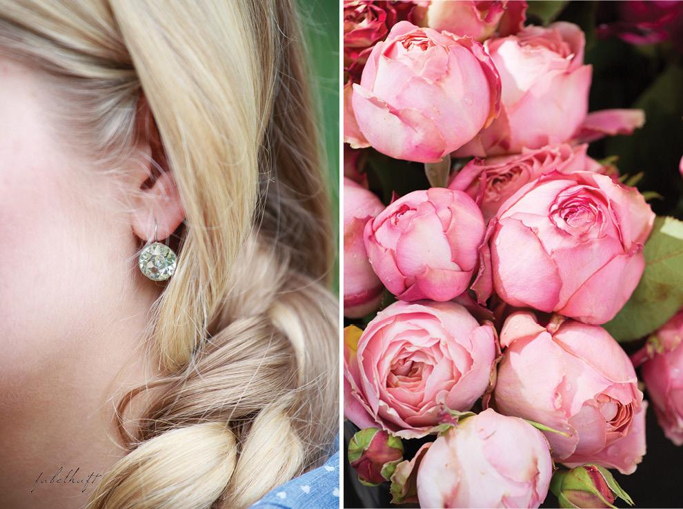 Shu Yao Roses Wochenmarkt Blossom Bloom Pink Crystal