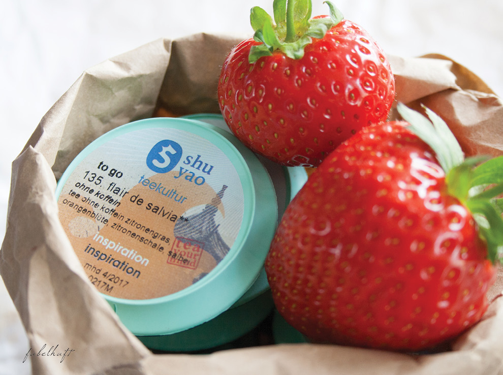 Shu Yao Teekapseln Erdbeeren