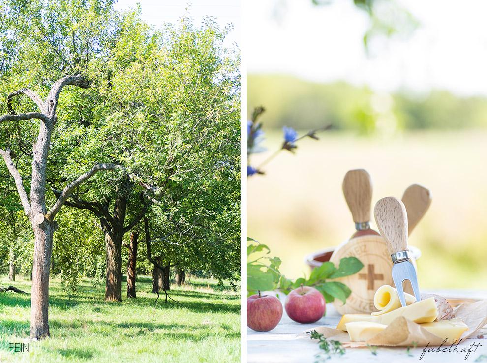 Joghurt Äpfelbäume