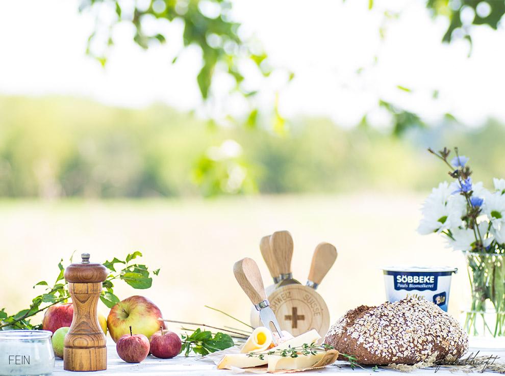 Joghurt Herbst Tisch