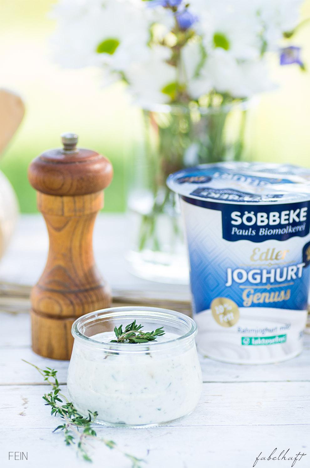 Joghurt Söbbeke Kräuter Dip
