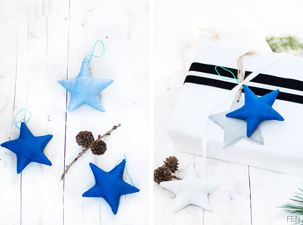 Geschenke Verpackung Sterne