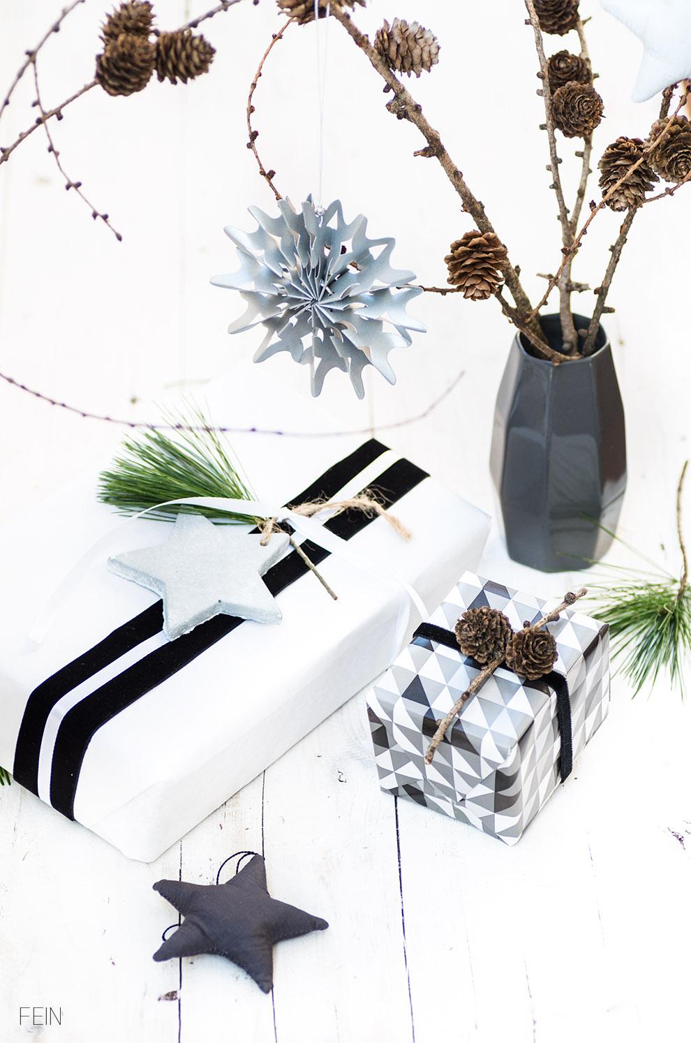Geschenke Verpackung Weihnachten