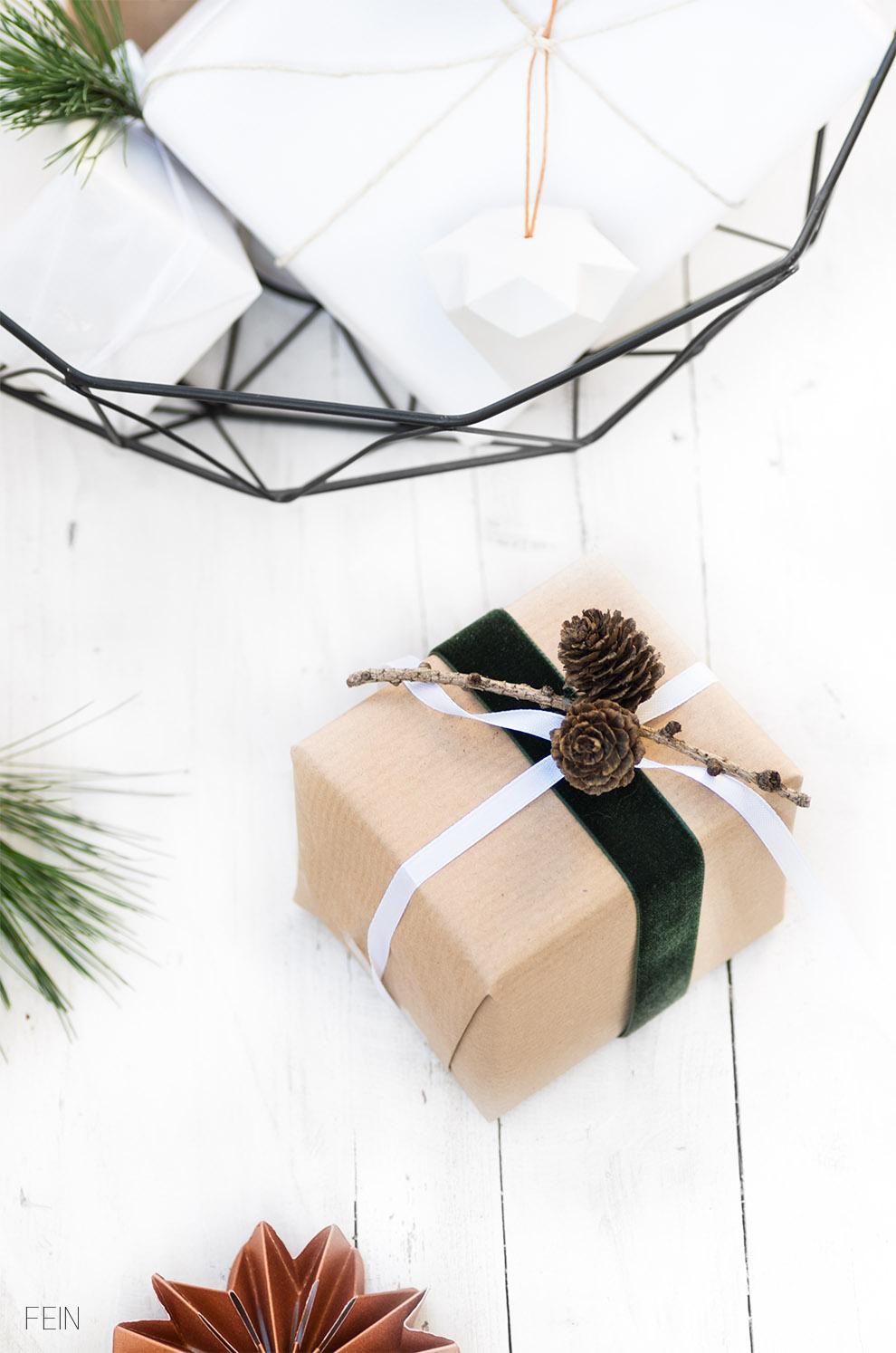 Geschenke Wald Weihnachten