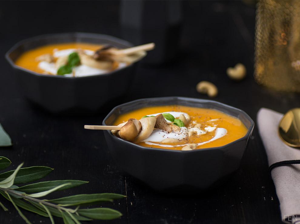 Gold Kürbissuppe