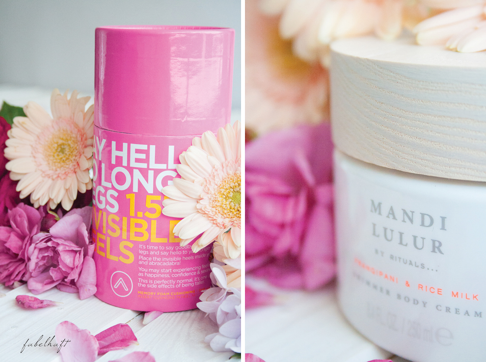 Say hello to longer legs rituals shimmer body lotion