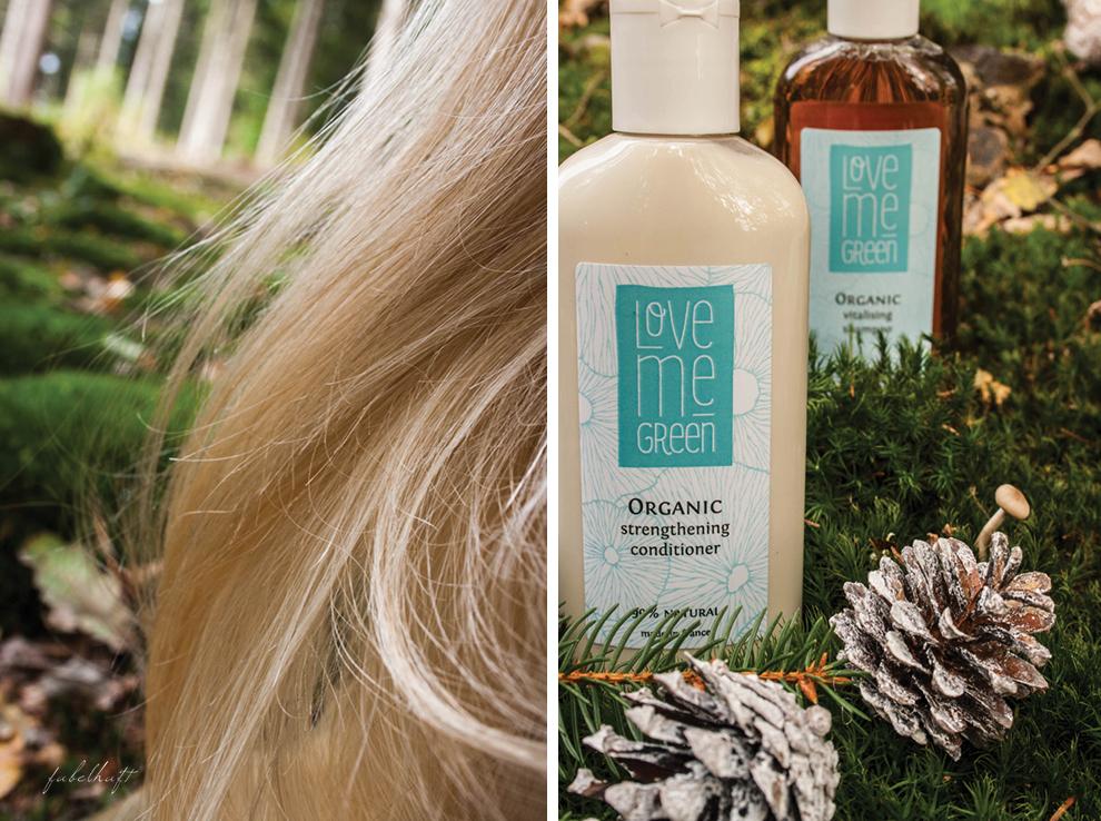 Haare Blond Kur Shampoo Spülung Love me Green Natur