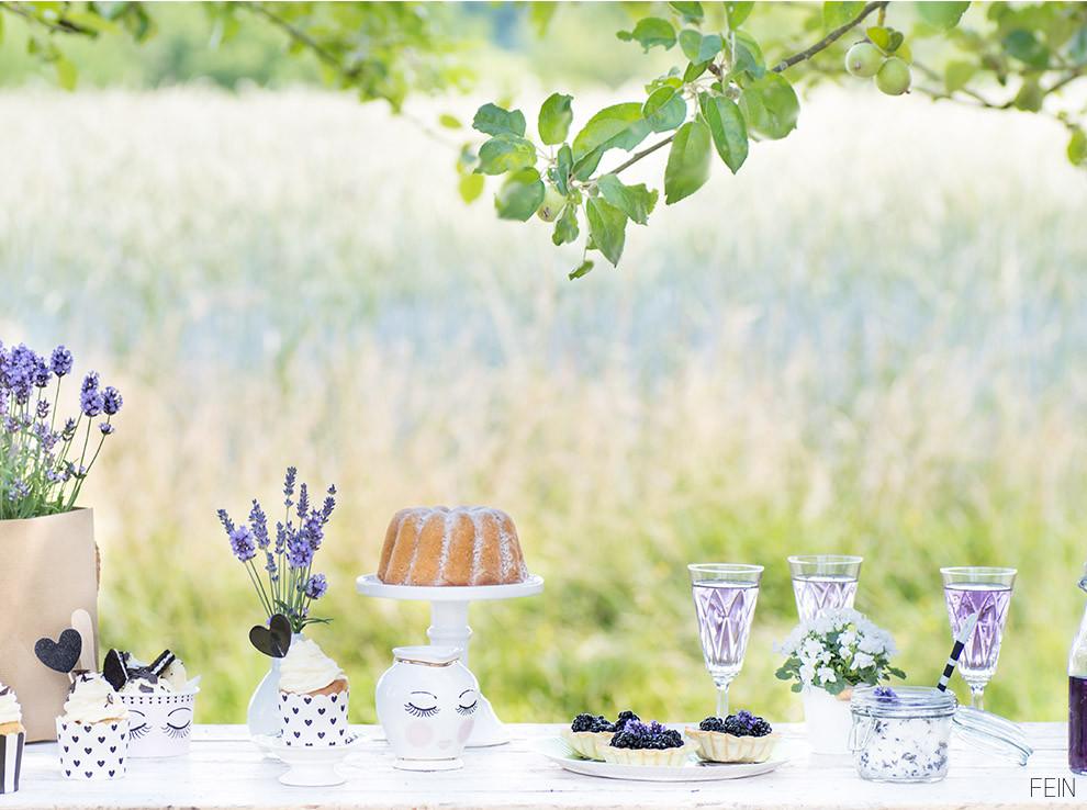 Lavendel Miss Etoile Sweet Table