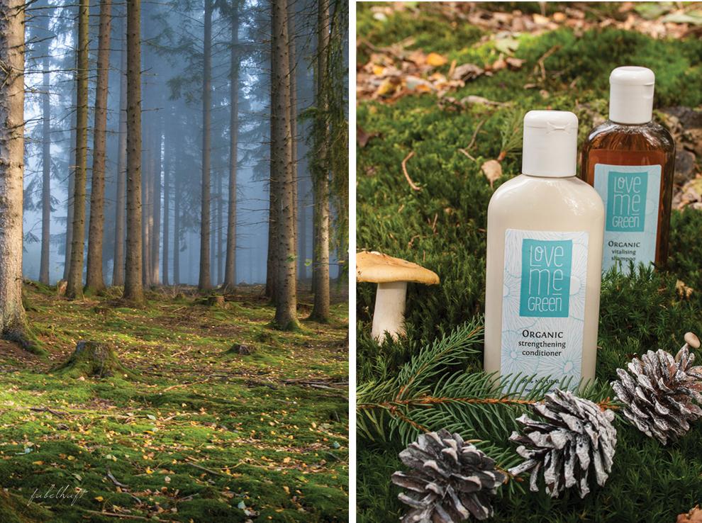 Love me Green Shampoo Spülung Naturkosmetik ECO Cert