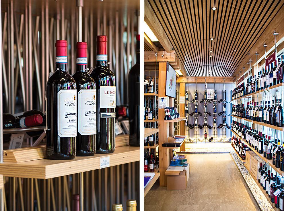 Wein Weinhaus Regale