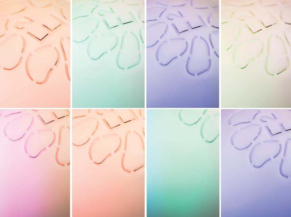 IRIS Duft Diffuser Colours Lichttherapie Detox Weihnachtsgeschenk