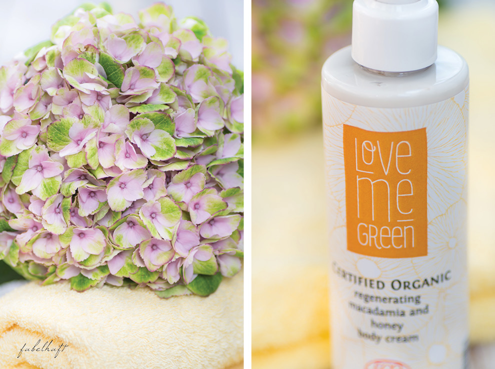 Lovemegreen Body Cream Honey Macadamia Naturkosmetik made in France