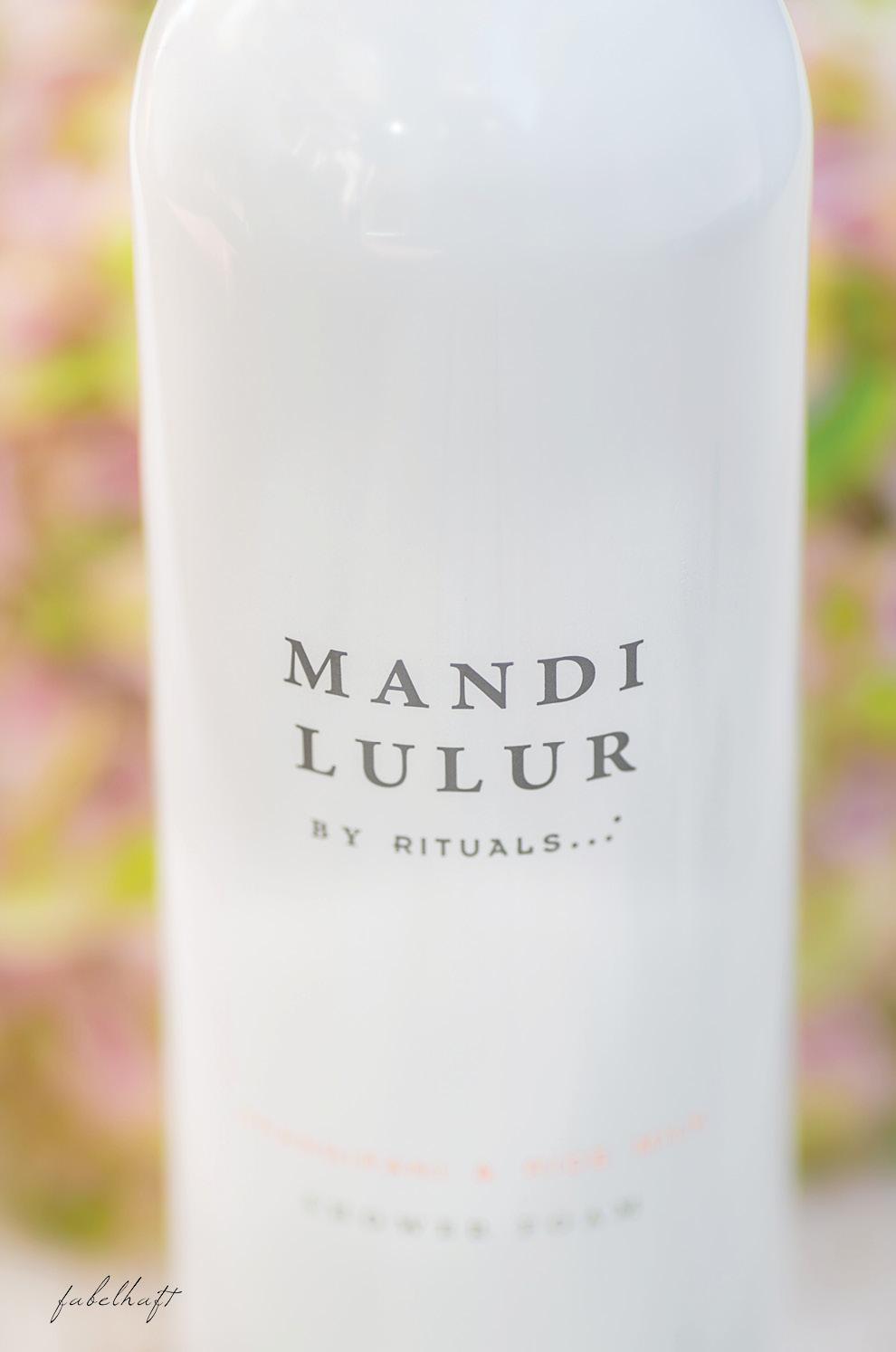 Mandi Lulur Shower Foam Rituals