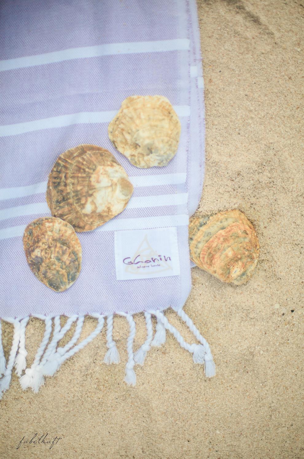 Strandtuch Austern Ghanin Schöne Beute