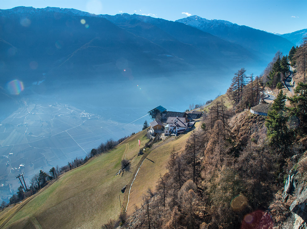 Apfelsaft Berge Südtirol