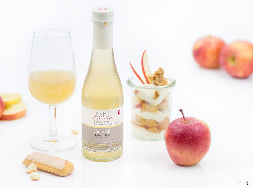 Apfelsaft Dessert