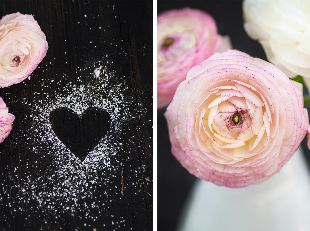 Valentinstag Chailove Ranunkel Rosa