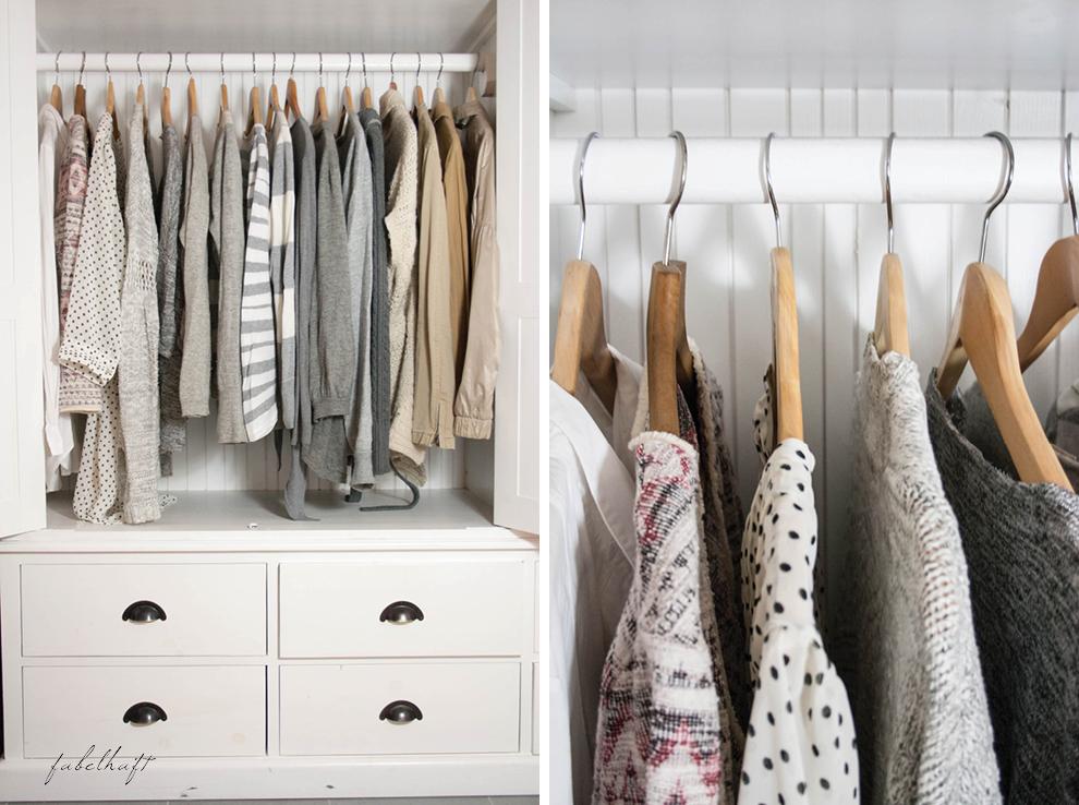 in my closet gray beige white vintage