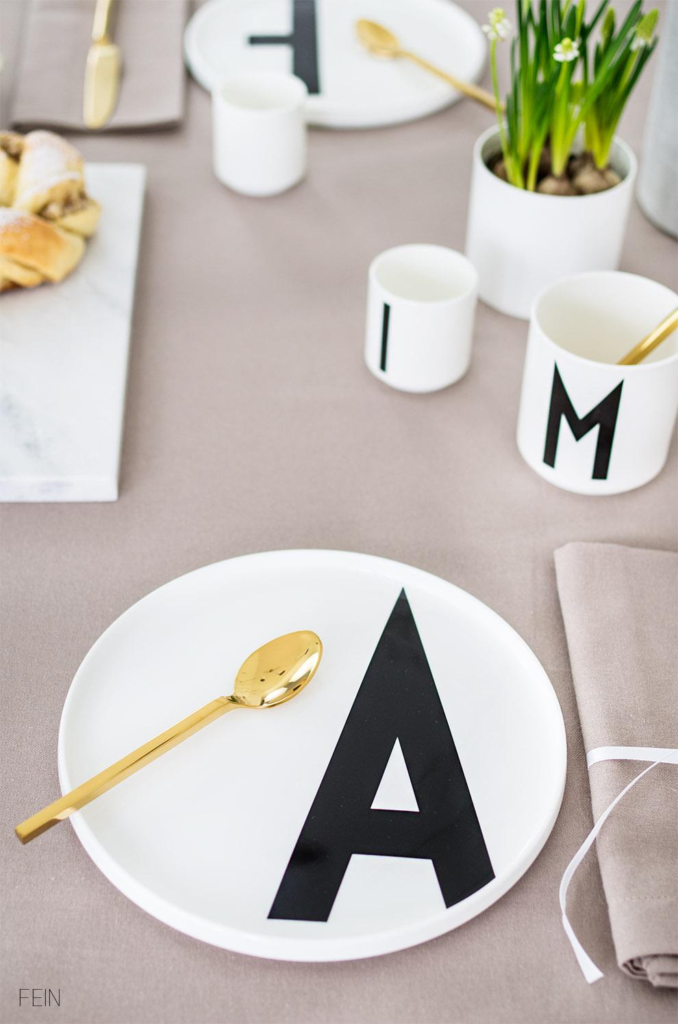 Design Letters Geschirr
