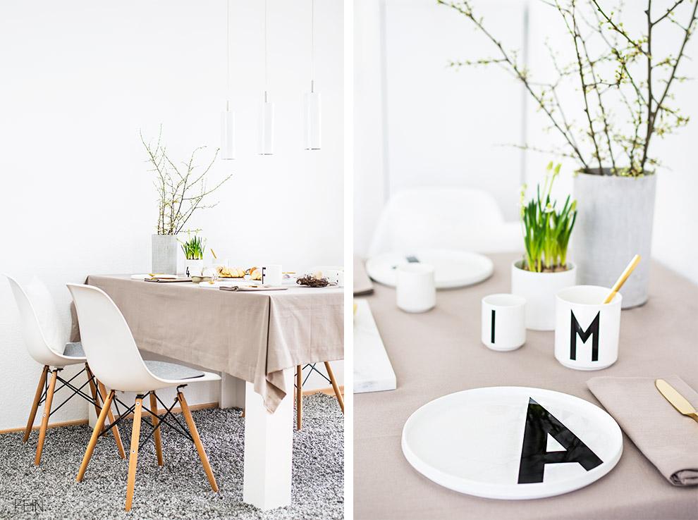 Design Letters Ostertisch