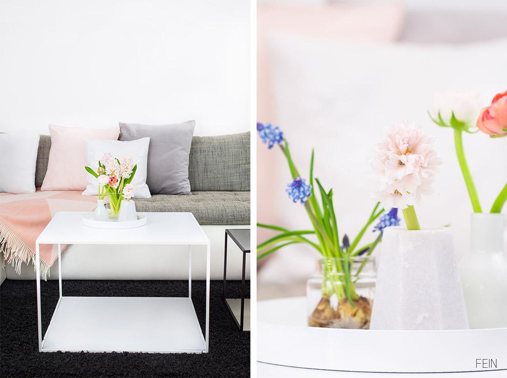 Stilherz Sofatisch Blumen Spring