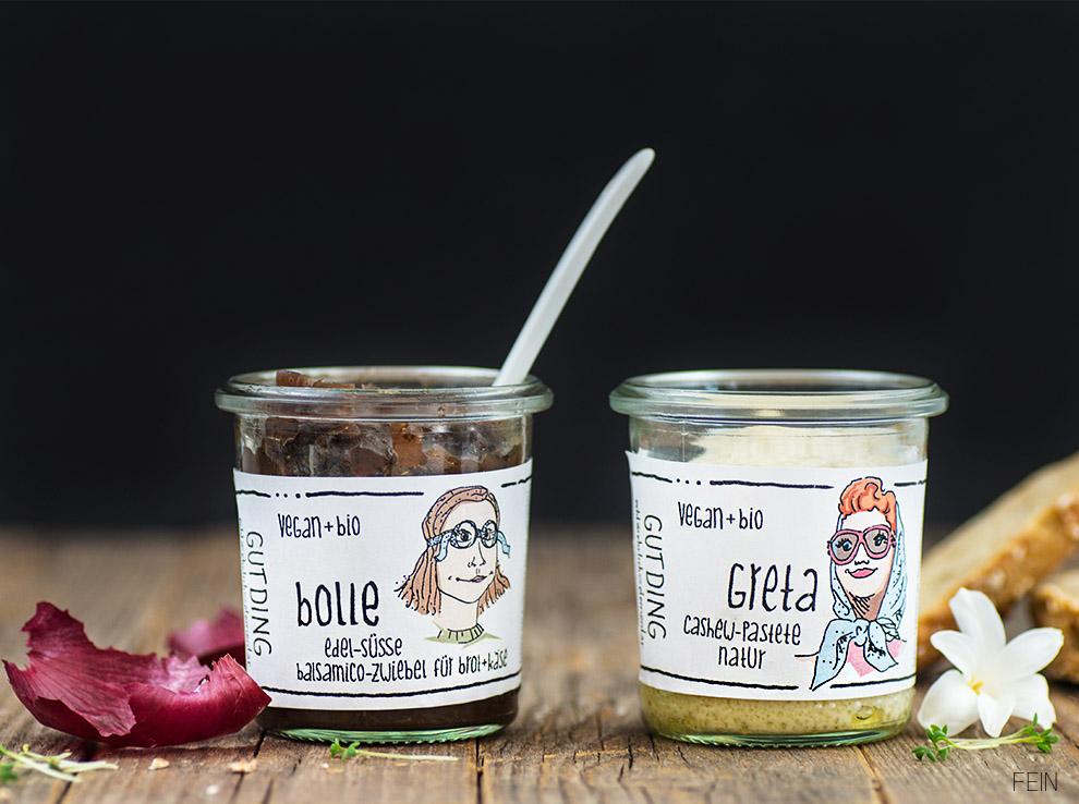 Vegan GutDing Greta Cashew Bolle Zwiebel