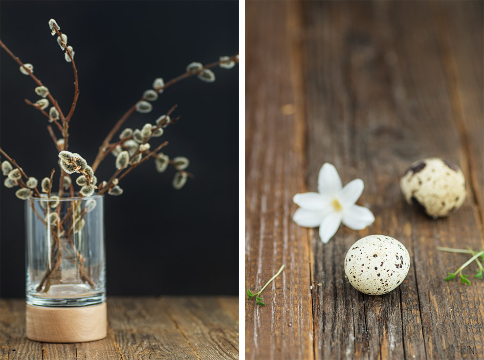 Vegan GutDing Vase Holz