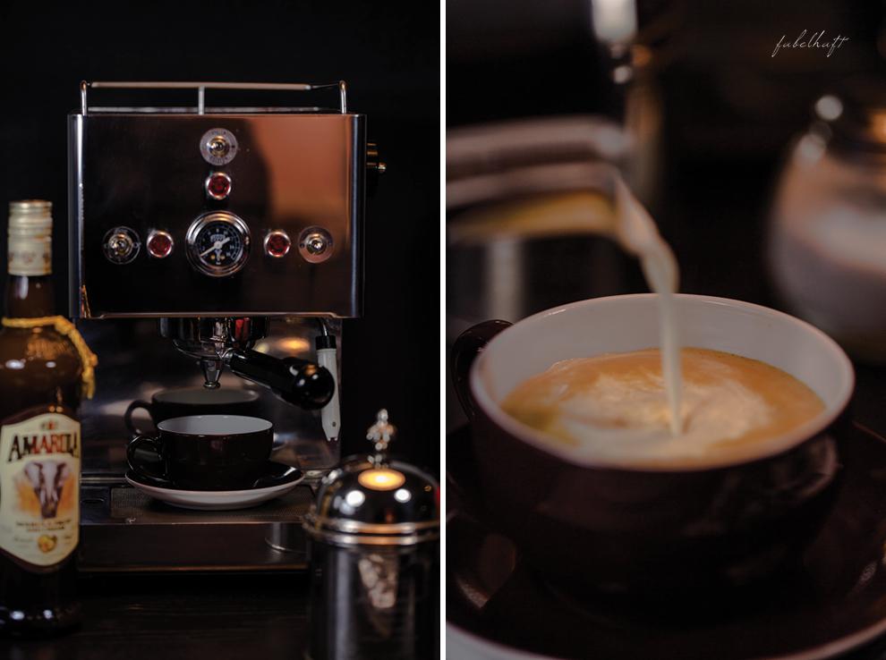 kaffee von lucaff und ein barista f r zu hause. Black Bedroom Furniture Sets. Home Design Ideas