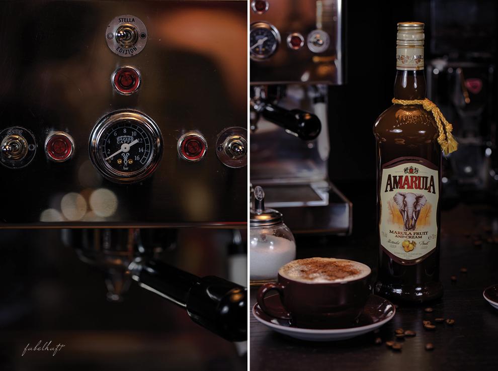 Espresso Bariste Amarula Cappucino Bazzar Café Kaffee Lucaffe Lowkey Fotografie 3