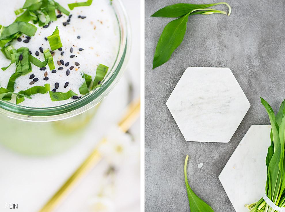 Marmor Platten weiß
